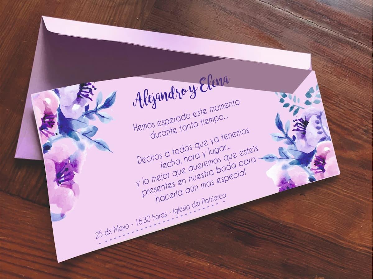 Bodas en valencia - Como elegir las invitaciones para tu boda